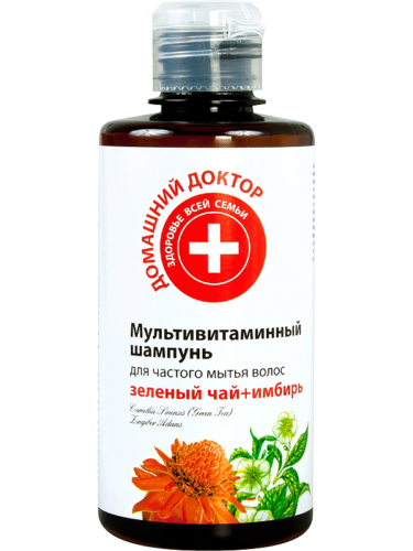 Shampoo Multivitamin Green Tea, Ginger 300мл