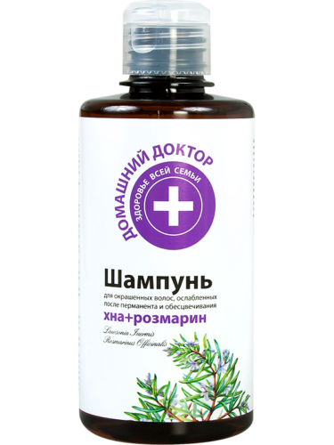 Shampoo Henna Rosemary for Colored Hair 300мл
