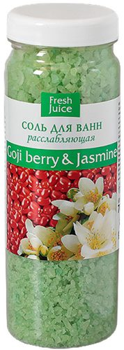 Bath Salt Goji Berry and Jasmine 700г
