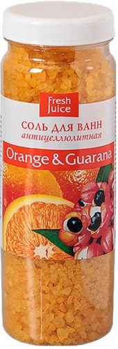 Bath Salt Orange and Guarana 700г