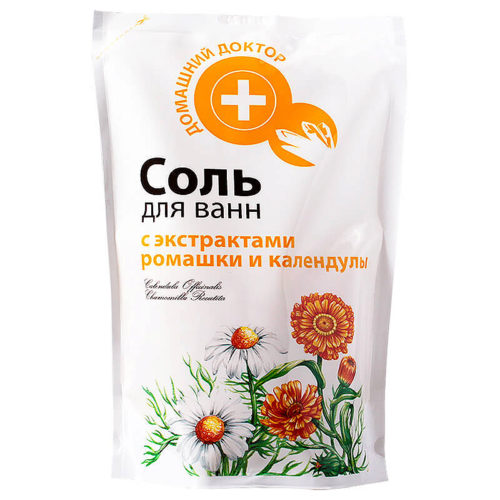 Salt with Chamomile and Calendula doypack 500г