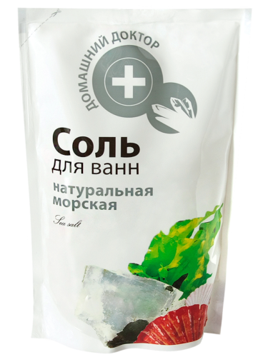Sea Salt Natural doypack 500г