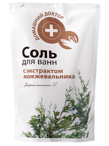 Salt with Juniper doypack 500г