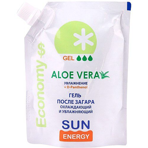 Economy After Sun Cooling Gel Aloe Vera 200мл Doypack