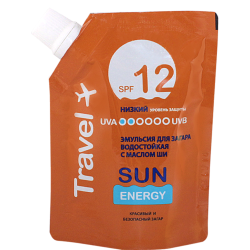 Travel Emulsion Sun SPF 12 90мл Doypack