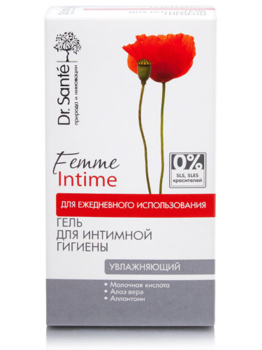 "Gel for Intimate Hygiene ""Moisturizing"" for Everyday Use 230мл"