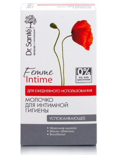 "Milk for Intimate Hygiene ""Soothing"" for Everyday Use 230мл"