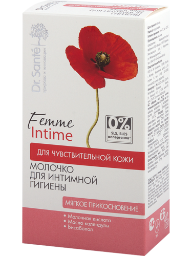 "Milk for Intimate Hygiene ""Soft touch"" for Sensitive Skin 230мл"