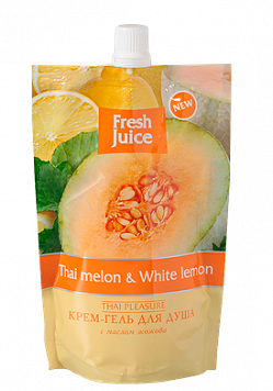 Cream-Shower Gel Doypack Thai melon and White Lemon 170мл