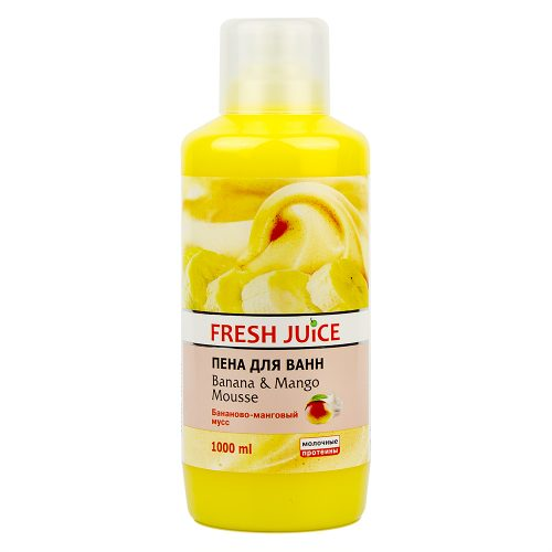 Bath Foam Banana and Mango mousse 1л