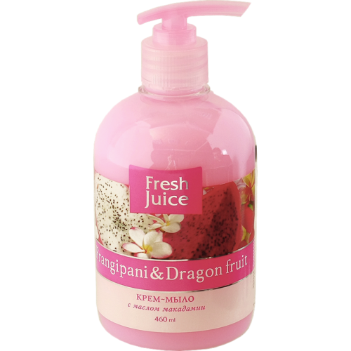 Cream Soap Frangipani and Dragon fruit 460мл