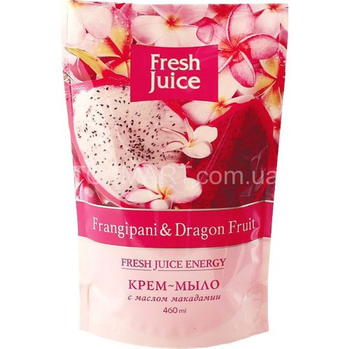 Cream Soap Doypack Frangipani and Dragon fruit 460мл