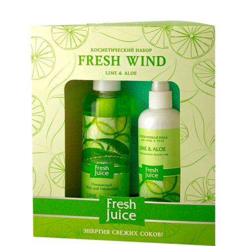 "Beauty Set Gel Wash Face + Water Refreshing + Towel ""Fresh wind"""