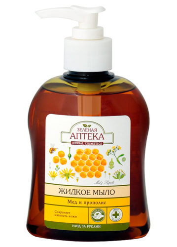 "Liquid Soap ""Honey and Propolis"" 300мл"
