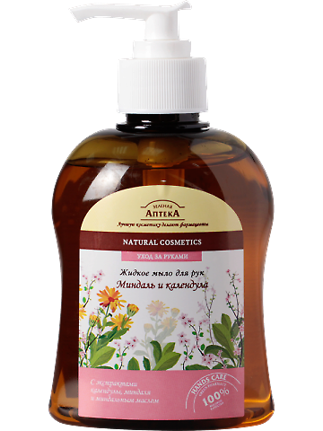 "Liquid Soap ""Almond and Calendula"" 300мл"