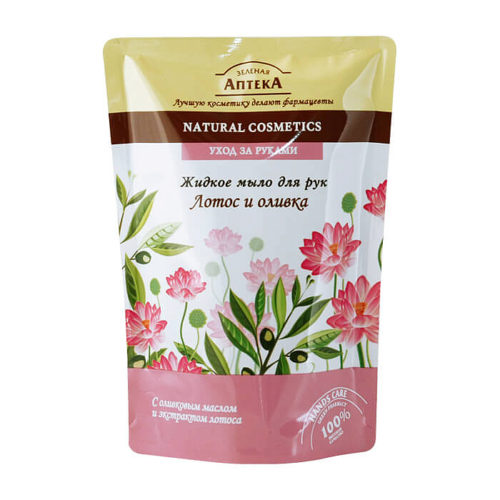 "Liquid Soap ""Lotus and Olives"" doypack 300мл"