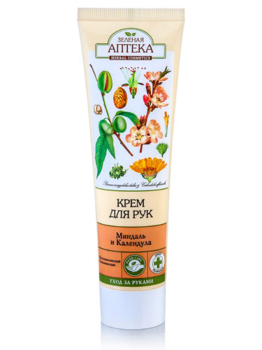 "Hand Cream ""Almond and Calendula"" 100мл"
