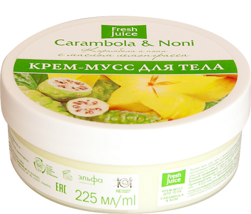 Cream Mousse for Body Carambola and Noni 225 мл