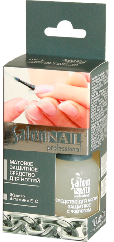 №7 Means for Nail Protection with Iron 10 мл