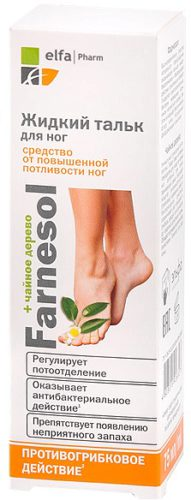 Farnesol Liquid Talc for Feet 75мл