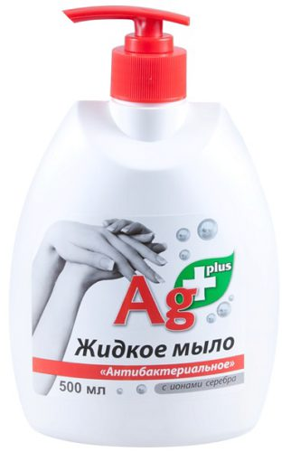 "Liquid Soap Ag+ ""Antibacterial"" 500мл"