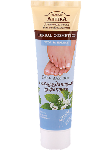 Foot Cream with Cooling Effect 100мл