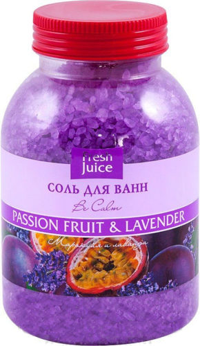 Bath Salt Passion fruit and Lavender 1100г