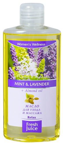 Oil Care and Massage Mint and Lavender+Almond Oil 150мл