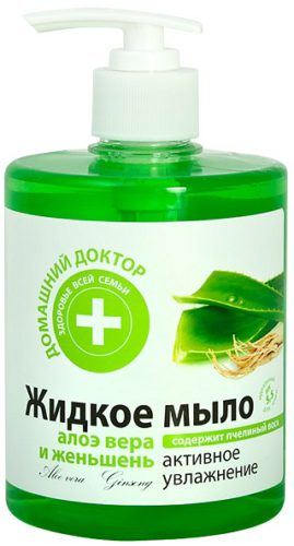 "Liquid Soap ""Aloe Vera and Ginseng"" 500мл"