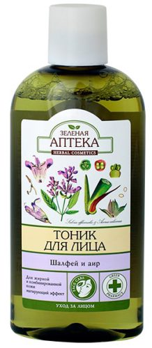 Tonic for Oily and Combination Skin Sage and AIR 200мл