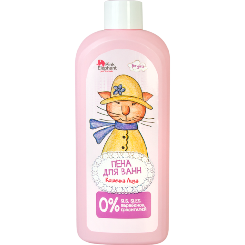 "Bath Foam ""Cat Lisa"" 500мл"