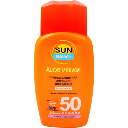 MED Waterproof Hypoallergenic Sunscreen Emulsion Sun SPF50 150мл