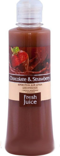 Cream Shower Gel Chocolate and Strawberry 300мл