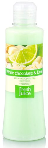 Cream Shower Gel White chocolate and Lime 300мл