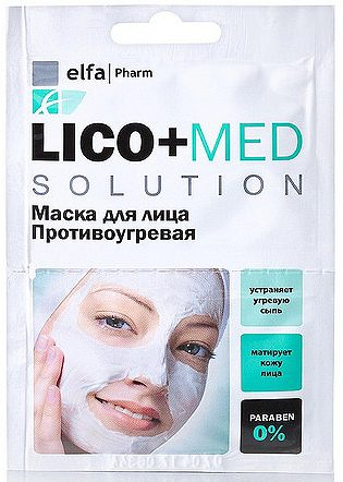 Lico+Med Face Mask Anti-Acne 20мл