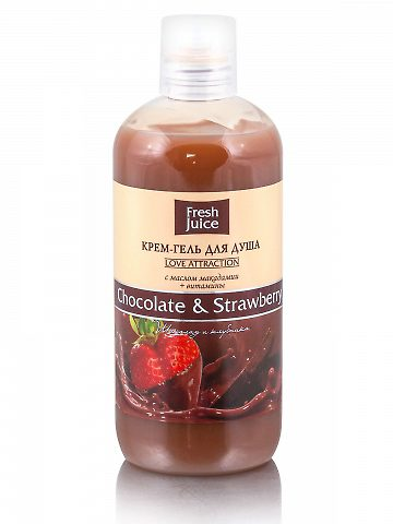 Cream Shower Gel Chocolate and Strawberry 500мл