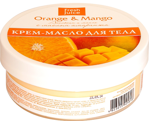 Cream-Butter for Body Orange and Mango 225 мл