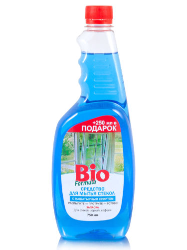 Glass Cleaner with Ammonia 750мл (reserve)