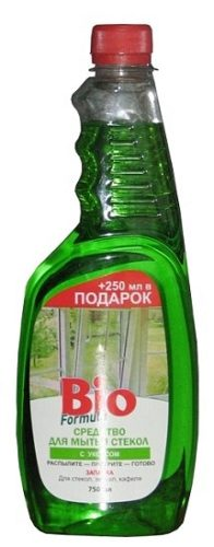 Glass Cleaner with Vinegar 750мл (reserve)