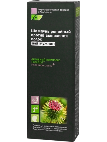 Men Burdock Shampoo 200мл