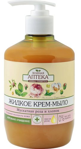 "Liquid Soap ""Muscat Rose and Cotton"" 460мл"