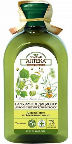 "Balm Conditioner for Dry and Damaged Hair ""Linden Flowers and Sea Buckthorn Oil"" 300мл"