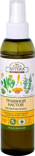 "Herbal Infusion for Oily Hair ""Calendula Officinalis and Rosemary Oil"" 150мл"