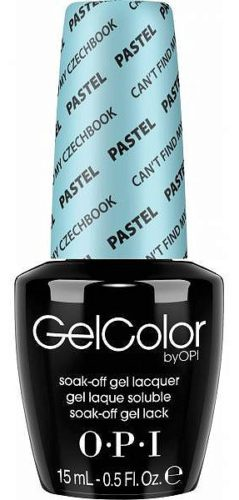 Gel Nail Color Pastel Can`t Find My Czechbook 15мл