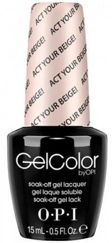 GelColor Act Your Beige! 15 мл