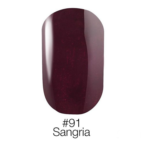 Gel Polish №91 Sangria 6 мл