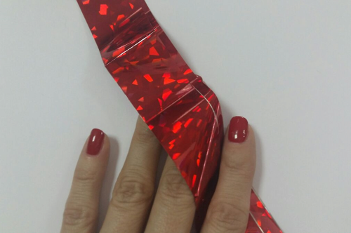 Foil for Molding  №04 Red Diamond
