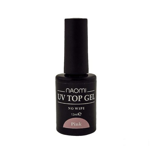 UV Top Gel No Wipe Pink 12 мл