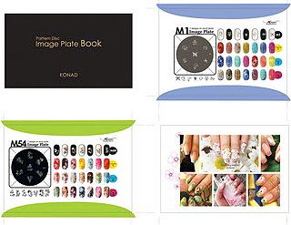 Image plate book