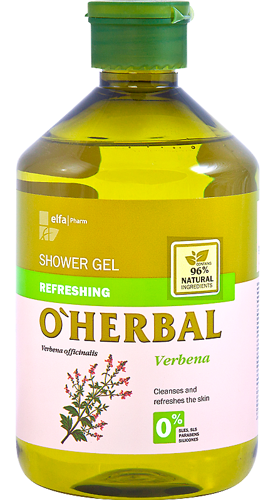 Refreshing Shower Gel with Verbena Extract 500 мл